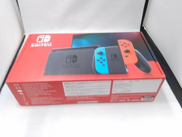 Nintendo Switch Joy-Con(L) ネオンブルー/(R) ネオンレッド(HADSKABAA)(バッテリー拡張モデル)_画像2