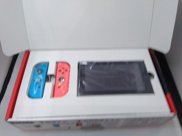 Nintendo Switch Joy-Con(L) ネオンブルー/(R) ネオンレッド(HADSKABAA)(バッテリー拡張モデル)_画像3
