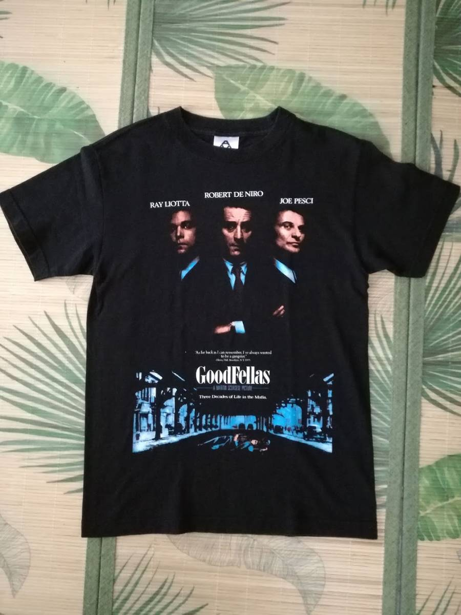 90s グッドフェローズ Goodfellas Tシャツ ロバート・デ・ニーロ 映画 hip hop SCARFACE 40ACRES wu-tang taxi driver supreme VINTAGE_画像5
