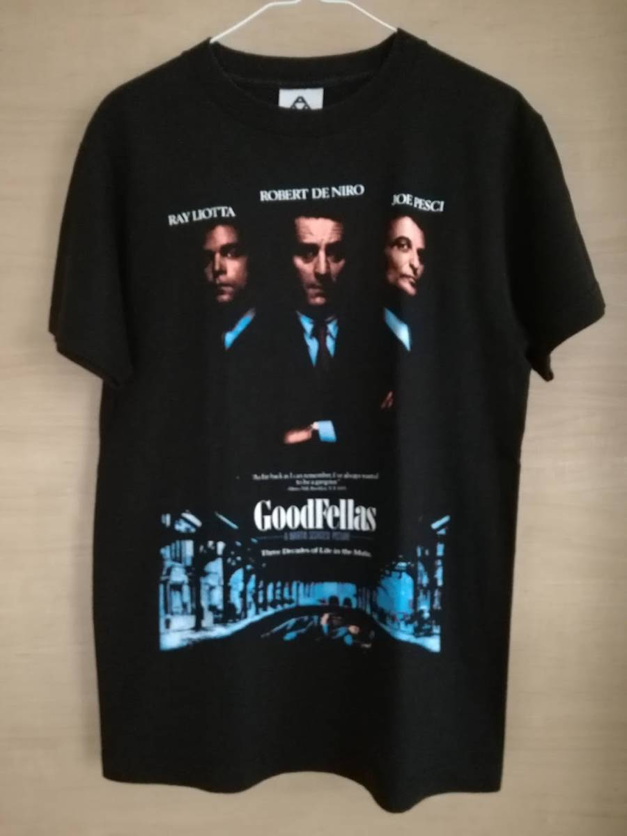 90s グッドフェローズ Goodfellas Tシャツ ロバート・デ・ニーロ 映画 hip hop SCARFACE 40ACRES wu-tang taxi driver supreme VINTAGE_画像1