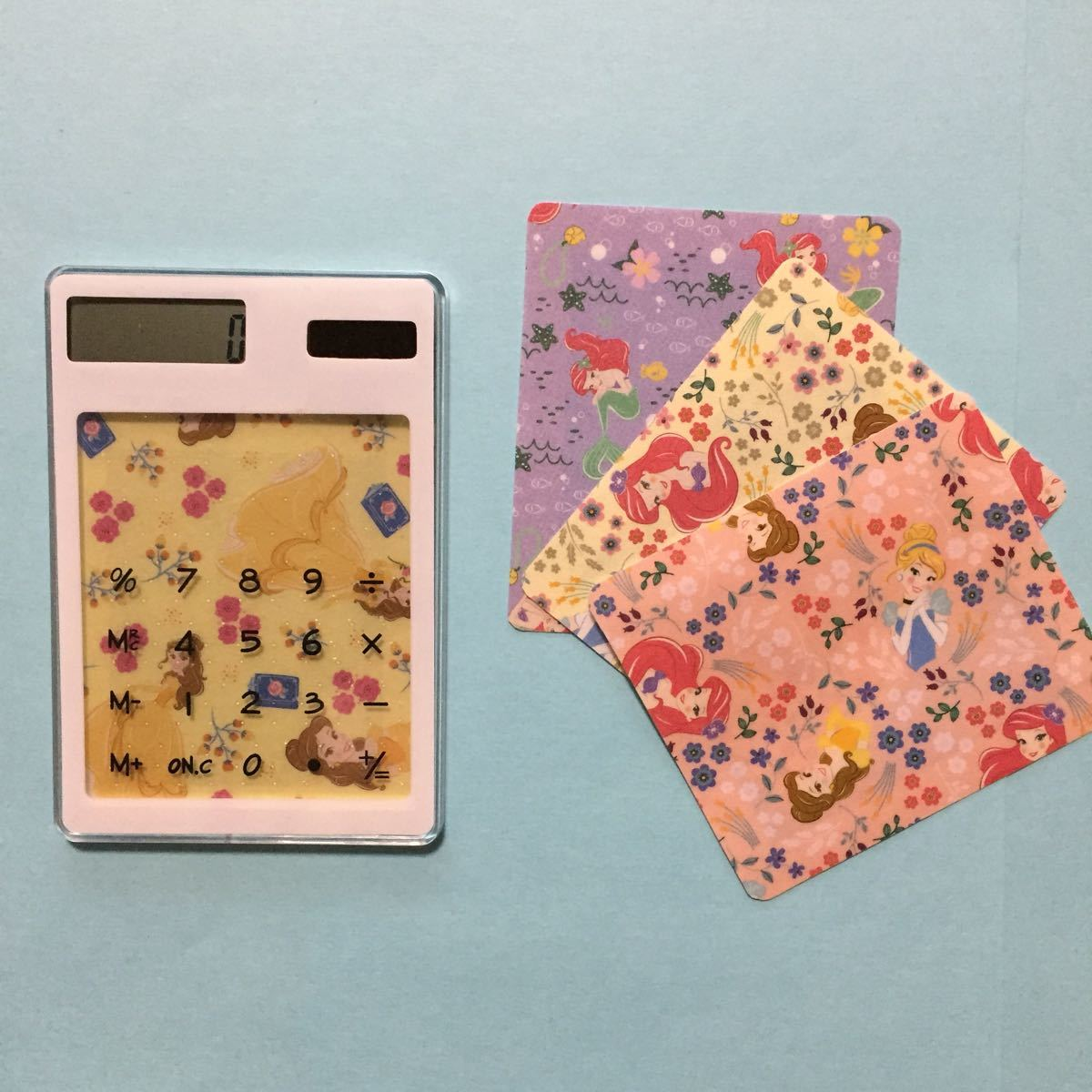 スケルトン電卓 & 入れ替えカード ( 6 ) ●まとめ割引対象商品●
