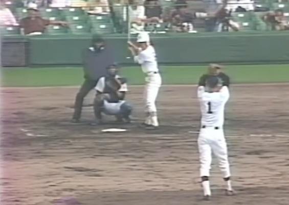 1982甲子園 第64回高校野球 1回戦 佐賀商vs木造★新谷 完全試合まであと1人_画像1