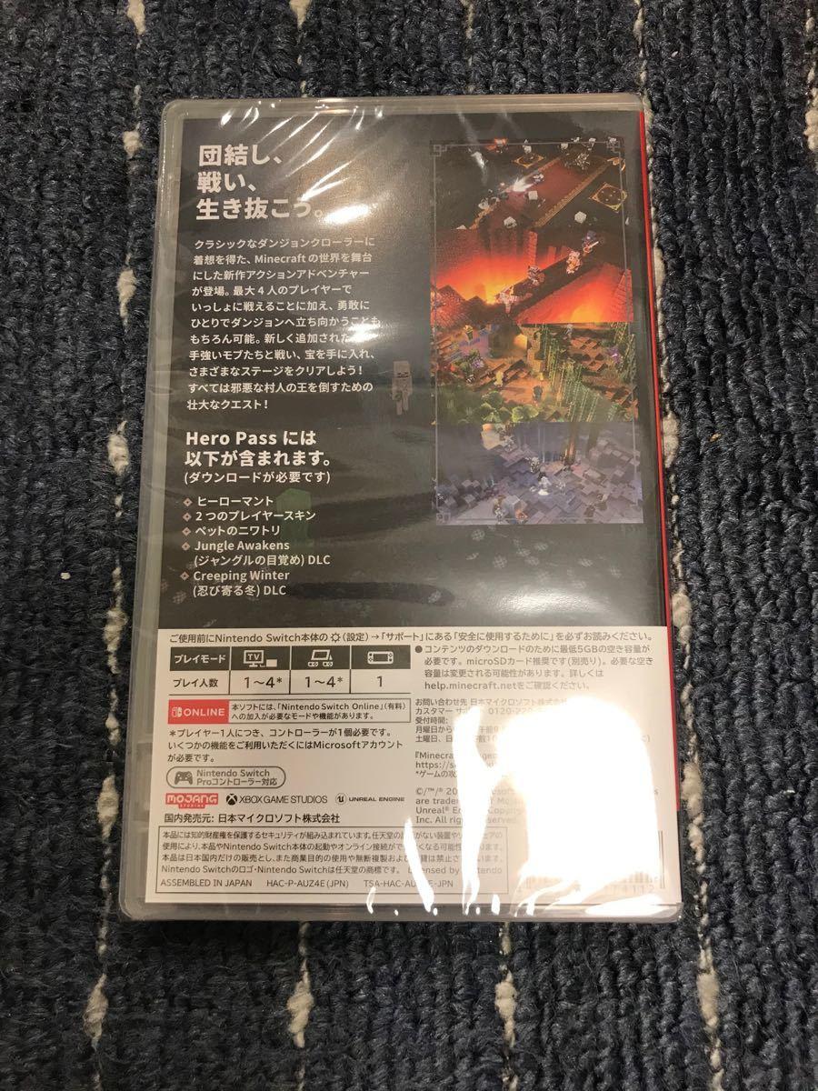 【Switch】 Minecraft Dungeons Hero Edition