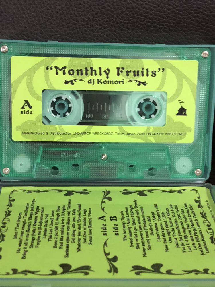 CD付 R&B MIXTAPE DJ KOMORI MANTHLY FRUITS VOL 10 KAORI DADDYKAY DDT TROPICANA MURO_画像3