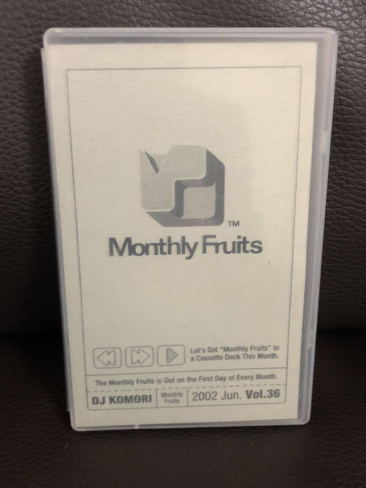 CD付 R&B MIXTAPE DJ KOMORI MANTHLY FRUITS VOL 36 KAORI DADDYKAY DDT TROPICANA MURO_画像1