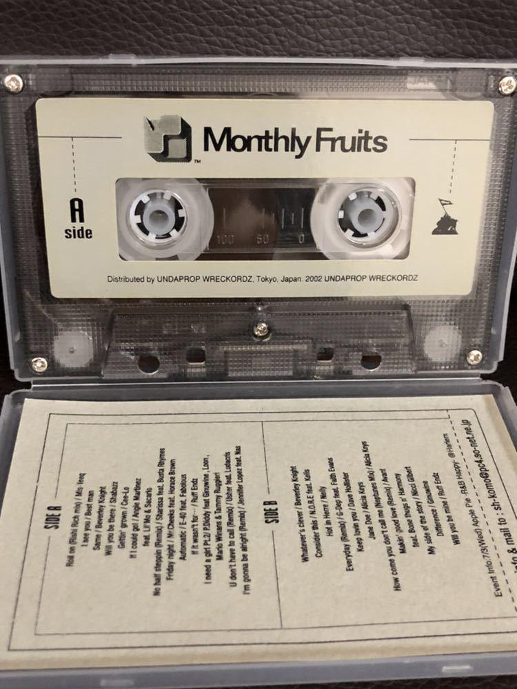 CD付 R&B MIXTAPE DJ KOMORI MANTHLY FRUITS VOL 36 KAORI DADDYKAY DDT TROPICANA MURO_画像2