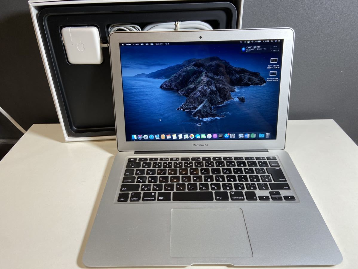 『最上位モデル SSD512GB』Apple MacBook Air Early2015 13インチ/Core i7 2.2GHZ/メモリ8GB/OFFICEライセンス付き/美品