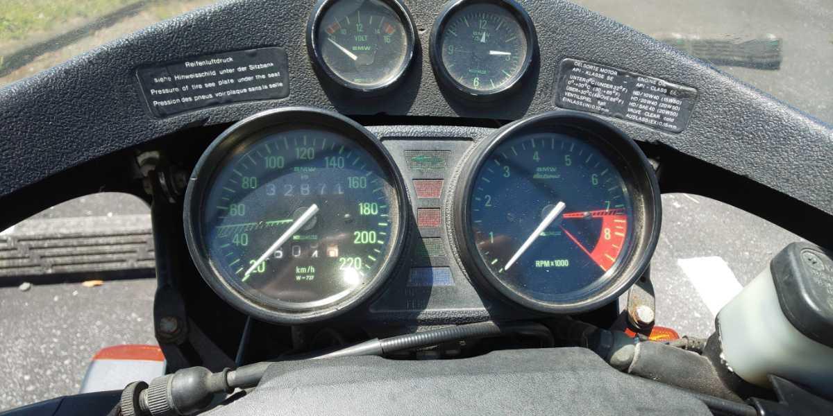 「BMW R80 フラットツイン 走行距離32871km」の画像3