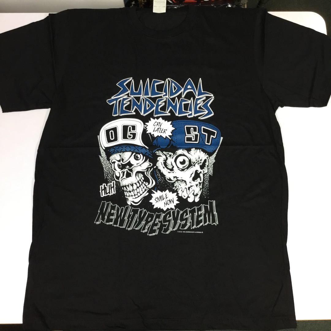 バンドデザインTシャツ XLサイズ スーサイダルテンデンシーズ SUICIDAL TENDENCIES ① BSCT3