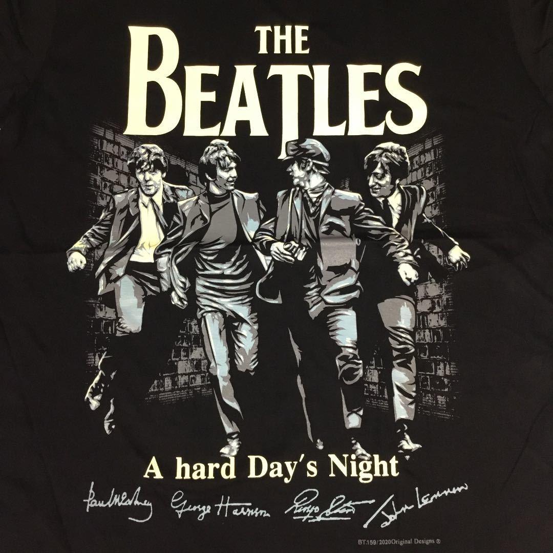バンドデザインTシャツ XLサイズ THE BEATLES ビートルズ BSCT3