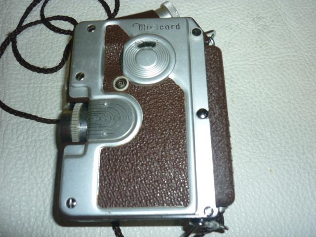 ■希少 美品 完動品 1951年発売!ドイツのゲルツ社 オーストリア製『Minicord(ミニコード)』小型二眼レフ