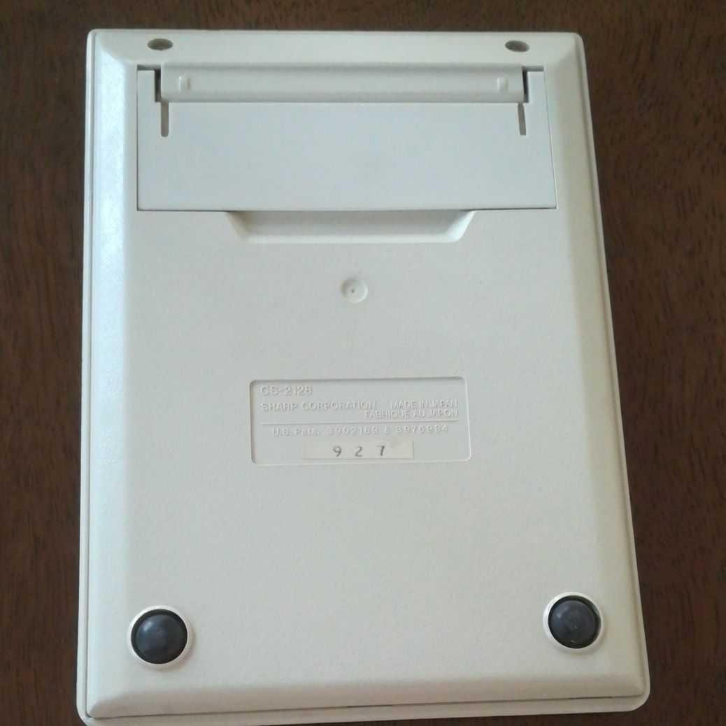 SHARP電卓 COMPET CS-2128