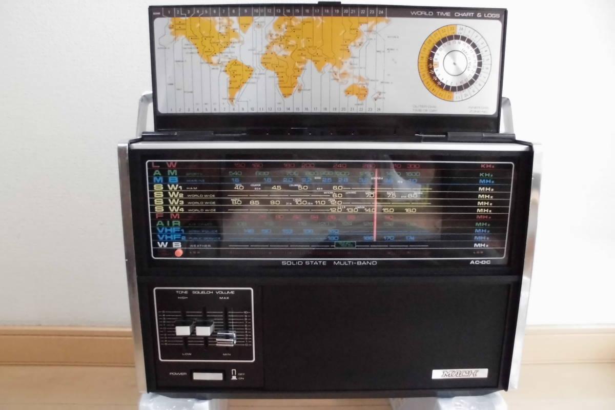 MARC  MODEL TRS-3600 8バンドワールドレシーバー 整備作動品