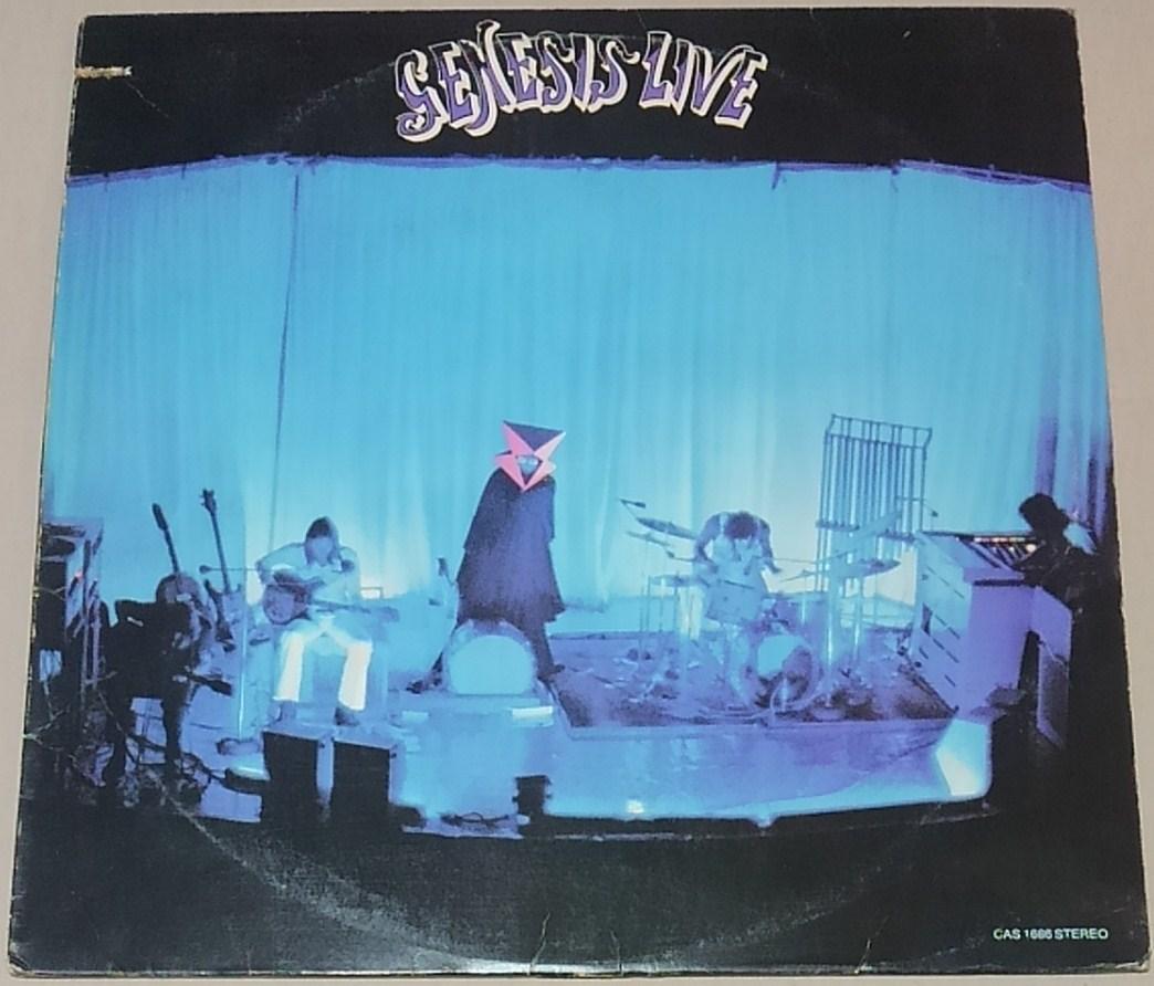 【LP】GENESIS / LIVE■US/カット盤/CAS-1666/75年再発盤■ジェネシス / ライヴ_画像1