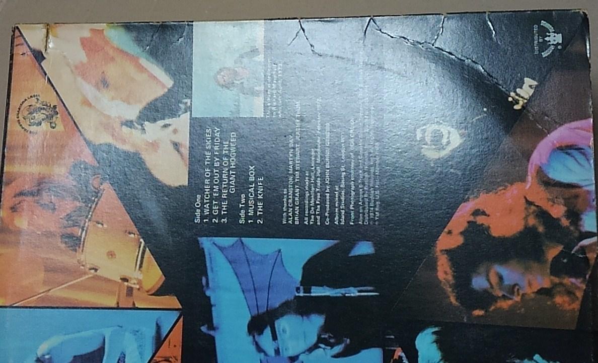 【LP】GENESIS / LIVE■US/カット盤/CAS-1666/75年再発盤■ジェネシス / ライヴ_画像4