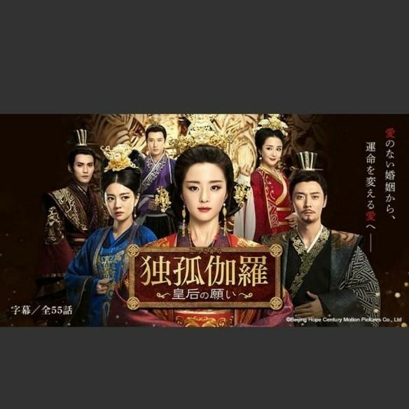 中国ドラマ 独孤伽羅 皇后の願い Blu-ray