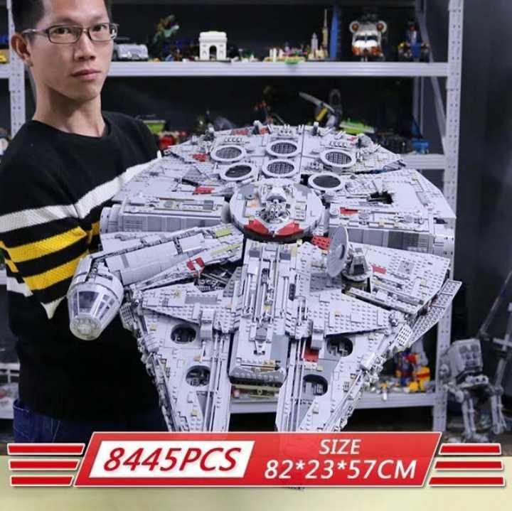 ☆最安値☆ レゴ 互換 ミレニアムファルコン 75192 スターウォーズ_画像2