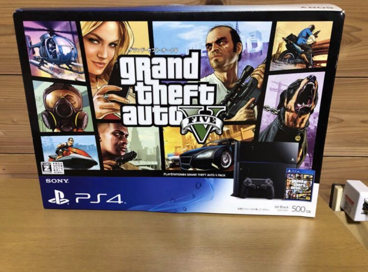 PlayStation4 Grand Theft Auto V Pack グラセフ 付き限定 PS4