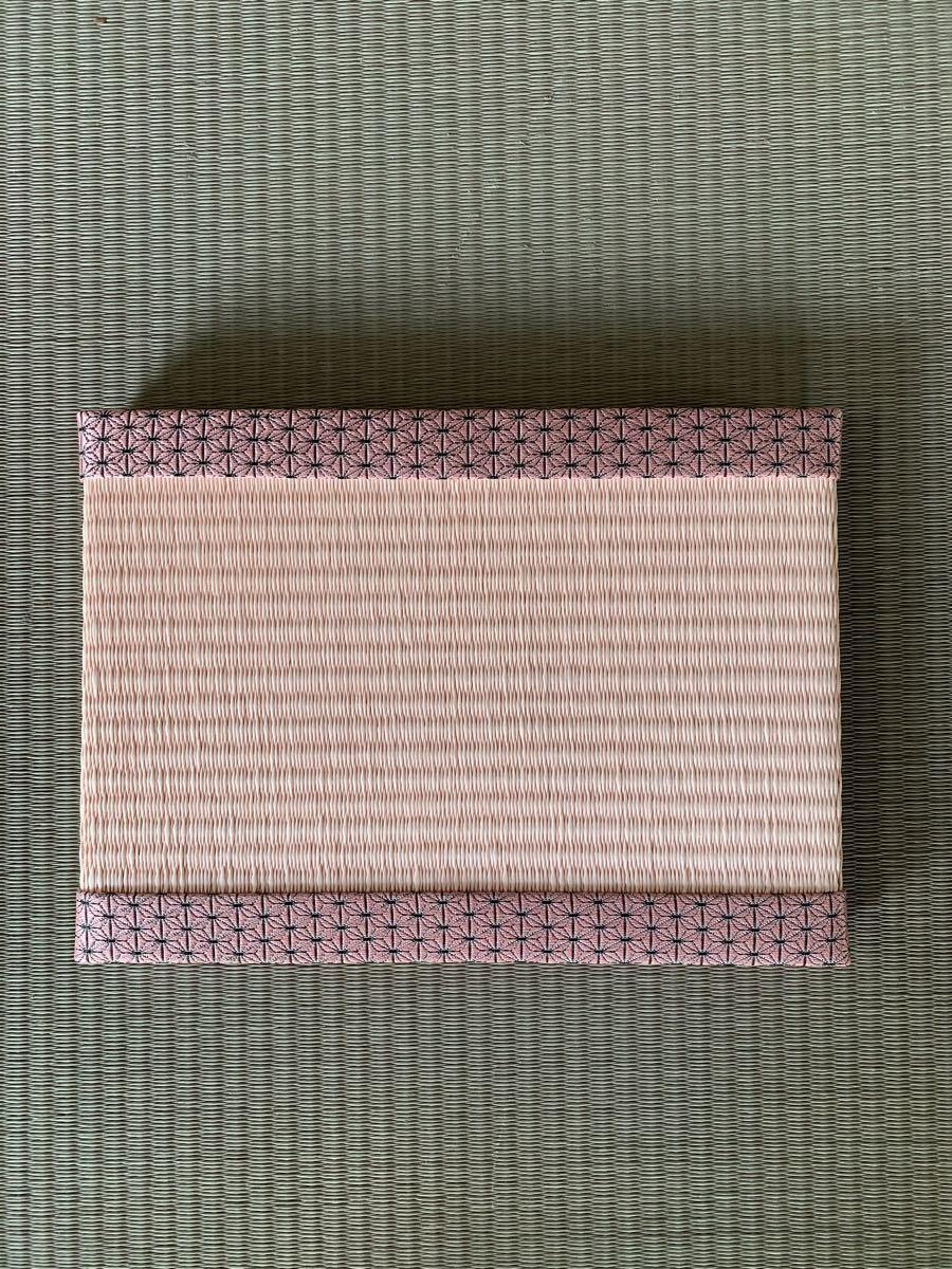 【鬼滅の刃】竈門禰豆子 ねずこ ねづこ柄 置き畳 ミニ畳 和紙 ハンドクラフト