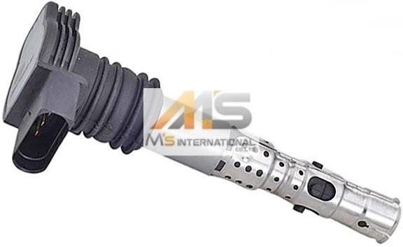 【M's】VW ポロ(9N) ゴルフ4(1J) ニュービートル(9C) イグニッションコイル 1個/優良社外品 フォルクスワーゲン 06A-905-115D 06A905115D_画像1