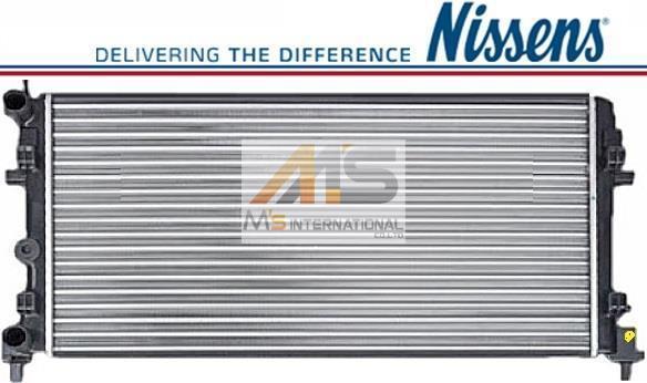 【M's】VW ポロ 6R (2010y-2014y)NISSENS製 ラジエーター//フォルクスワーゲン 社外品 ラジエター コア POLO 6R0-121-253A 6R0121253A_画像1