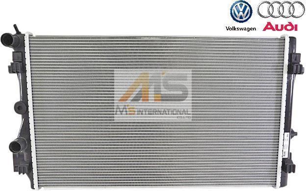【M's】VW ポロ 6R/6C(13y-18y) アウディ A1 8X(15y-17y) 優良社外品 ラジエーター//ラジエター POLO AUDI 6R0-121-253R 6R0121253R_画像1