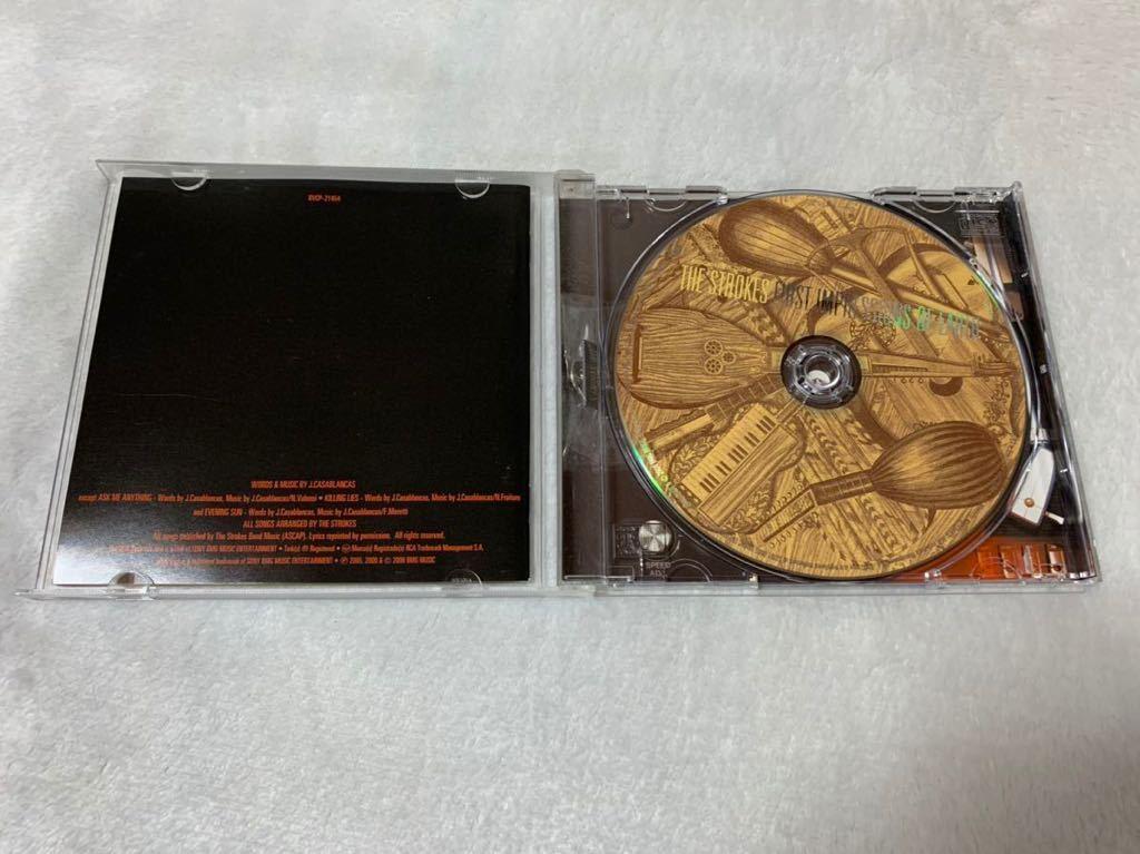 良品 THE STROKES ザ・ストロークス FIRST IMPRESSIONS OF EARTH ファースト・インプレッションズ・オブ・アース 国内盤 帯付CD 送料無料