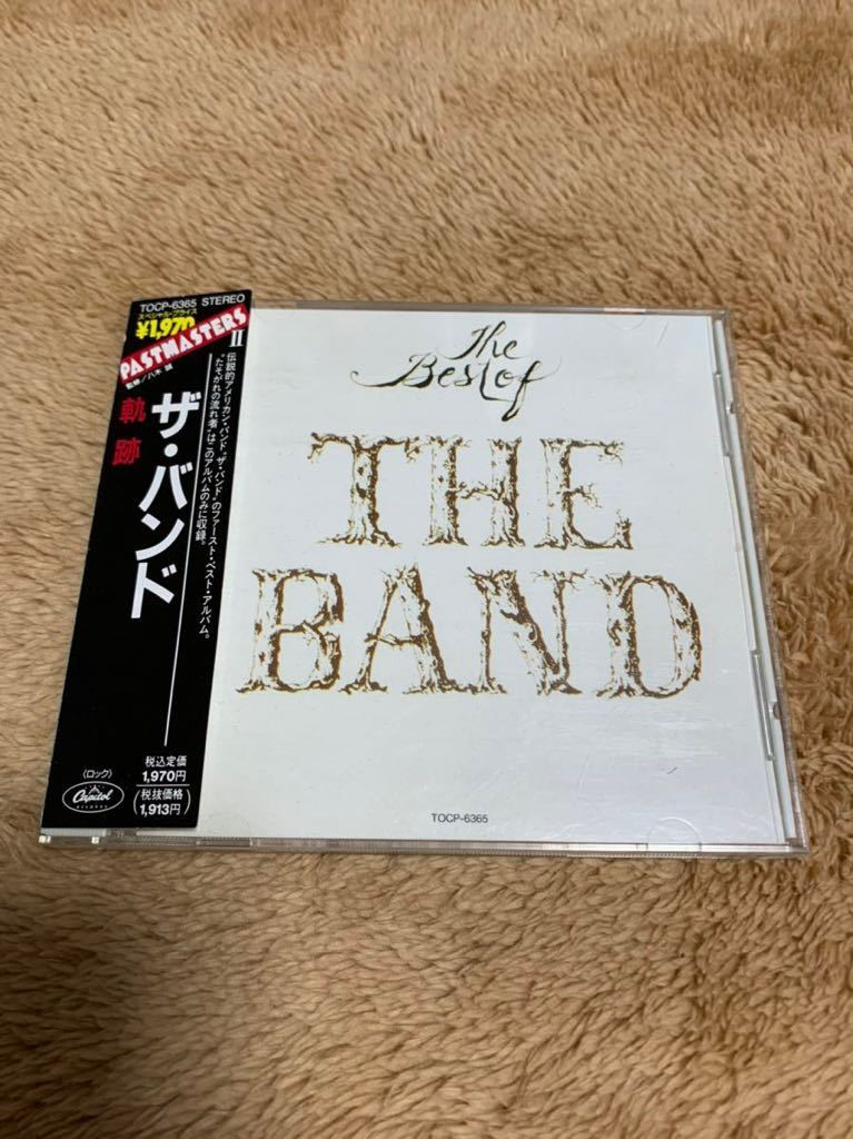 CD 軌跡 ザ・バンド ベスト THE BEST OF THE BAND ロビー・ロバートソン Robbie Robertson リヴォン・ヘルム 国内盤 帯付き CD 送料無料