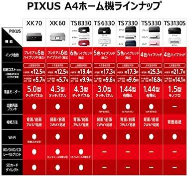 ブラック 普通 Canon プリンター A4インクジェット複合機 PIXUS TS8330 ブラック 2019年モデル_画像8