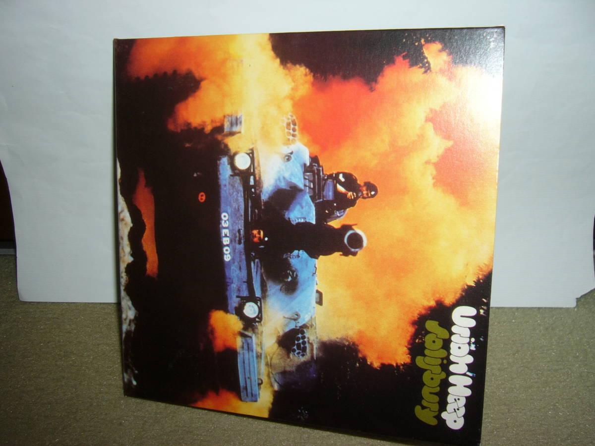 Uriah Heep 初期アートロック系HR時代の大傑作2nd「Salisbury」英国旧リマスター紙ジャケット仕様限定盤 輸入盤中古。_画像1