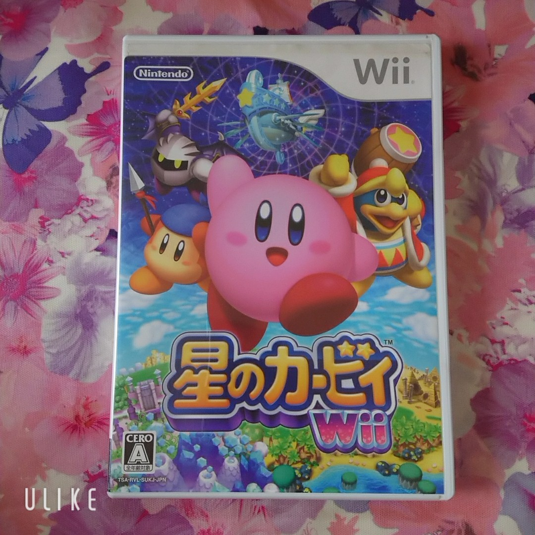 Wiiソフト 星のカービィWii