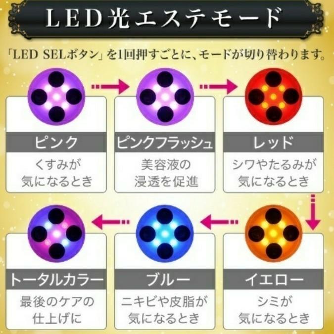 EMS LED 美容 美顔器