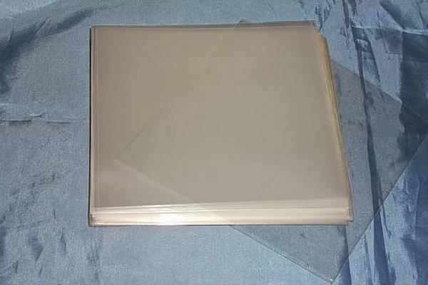 (サプライ) 紙製CDジャケット保護用透明PP袋200枚(100枚x2パック)セット (S19)_画像1