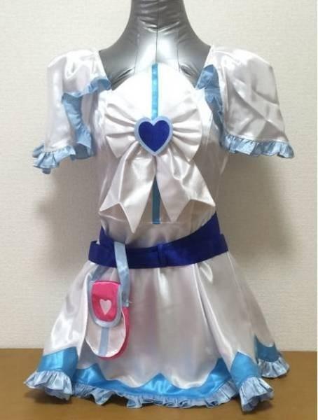 cos7089工場直販 コスプレ衣装 ふたりはプリキュア キュアホワイト_画像1