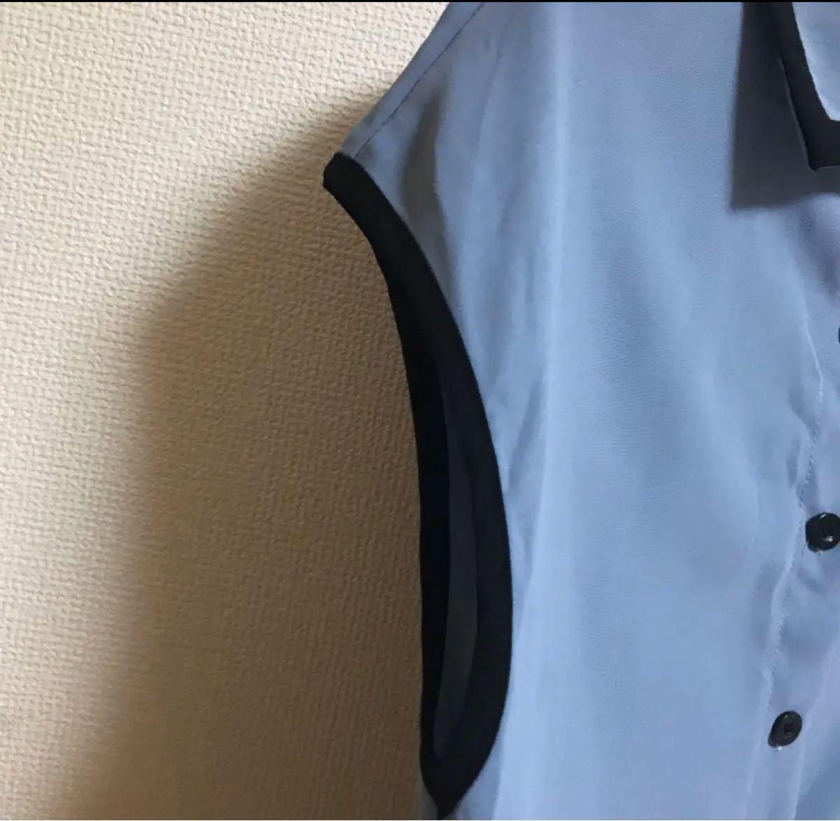 ノースリーブシャツ トップス ノースリーブブラウス