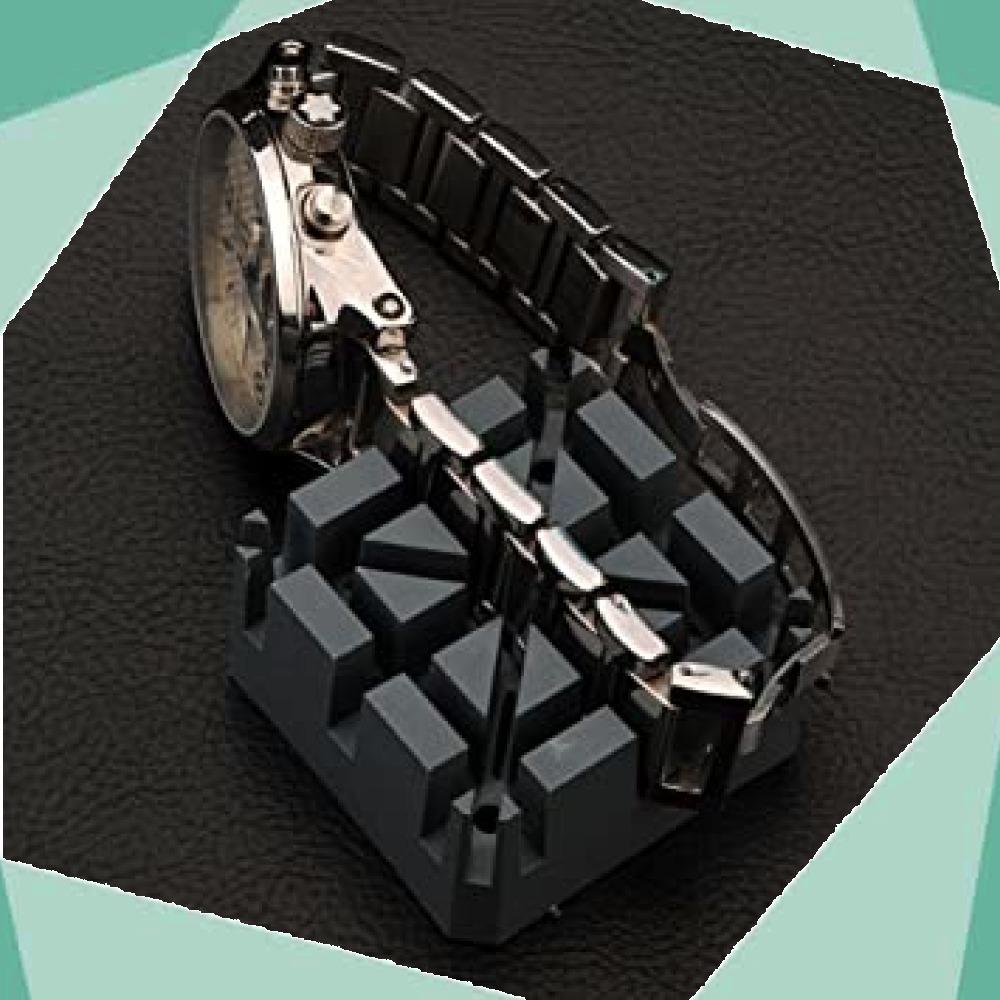 ◆新品即決!◇Salinr 腕時計 工具セット 時計修理ツール 時計修理 ベルトサイズ調整 工具 コマ調整 コマ外し 電池交換 _画像9