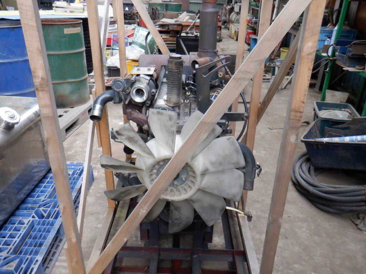 エンジン 4D95LE コマツ KOMATSU 油圧ショベル タイヤショベル ホイールローダー ブルドーザ 建設機械 重機 建機 札幌 北海道_画像6