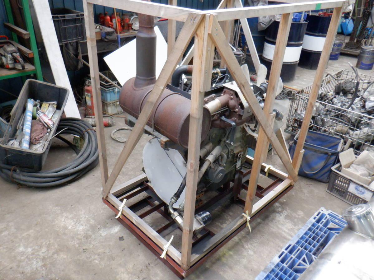 エンジン 4D95LE コマツ KOMATSU 油圧ショベル タイヤショベル ホイールローダー ブルドーザ 建設機械 重機 建機 札幌 北海道_画像1