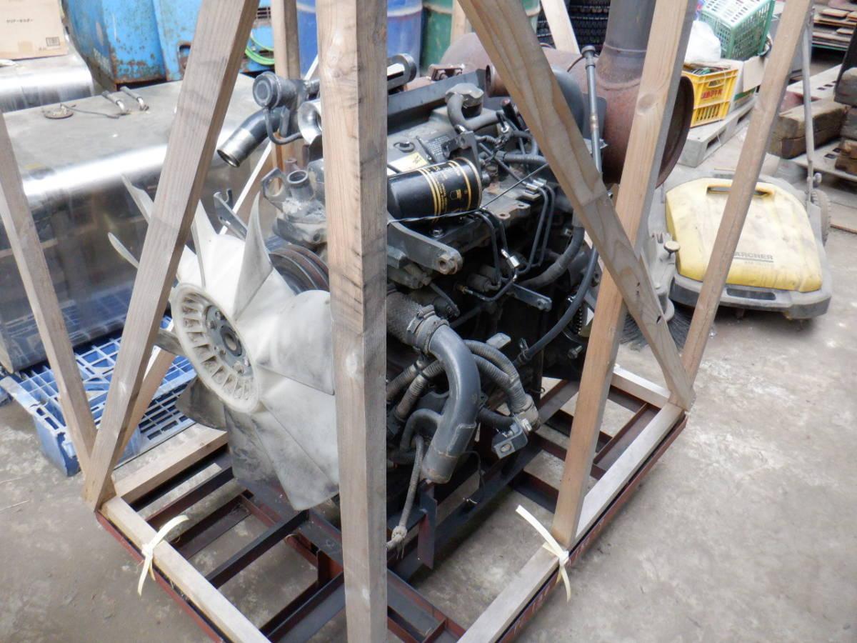 エンジン 4D95LE コマツ KOMATSU 油圧ショベル タイヤショベル ホイールローダー ブルドーザ 建設機械 重機 建機 札幌 北海道_画像5