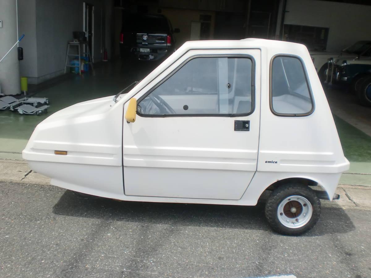 「希少車 イタリア BMA ノーバ・アミカ 三輪車 ミニカー amica エンジン ピストン ブレーキライン新品交換整備済み」の画像3