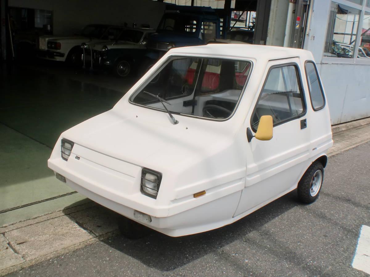 「希少車 イタリア BMA ノーバ・アミカ 三輪車 ミニカー amica エンジン ピストン ブレーキライン新品交換整備済み」の画像1