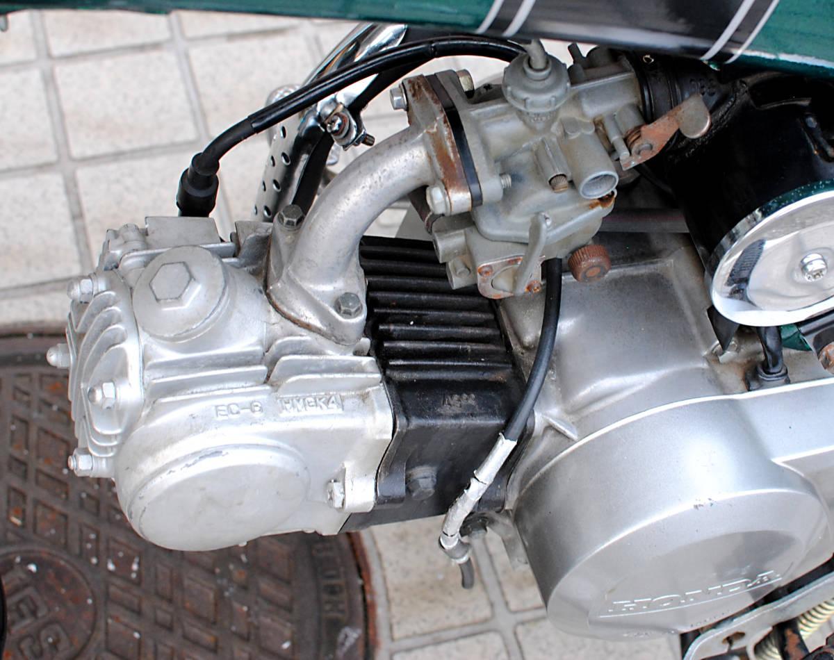 【引取り限定】ホンダ・ダックスDAX ST50レストア、75ccボアアップ改/実働、好調、美車_画像8