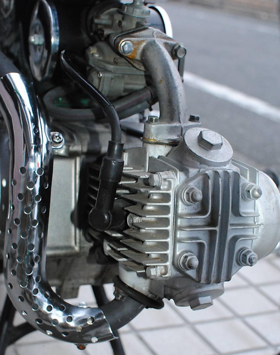 【引取り限定】ホンダ・ダックスDAX ST50レストア、75ccボアアップ改/実働、好調、美車_画像7