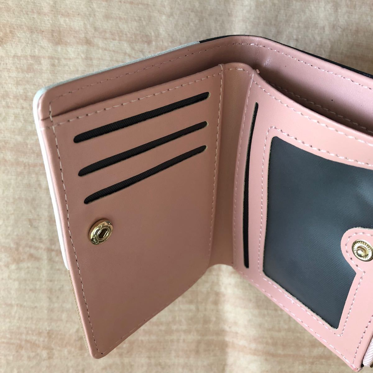 二つ折り財布 小銭入れ ミニ財布 新品未使用