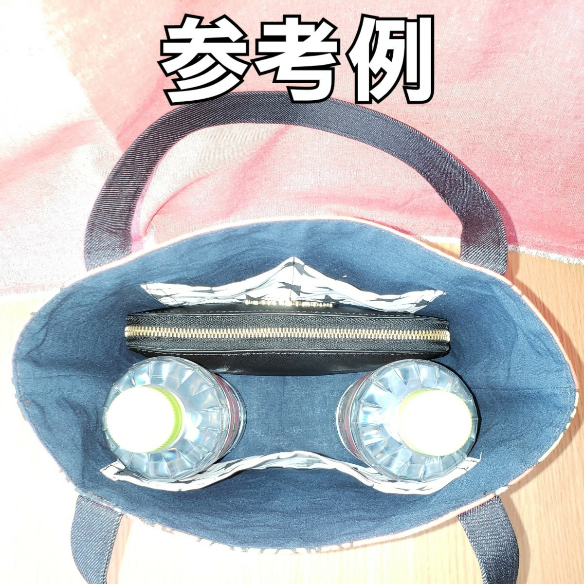 ハンドメイド 【赤 帆布】ヒスミニ柄 ミニトートバッグ トートバッグ バッグ