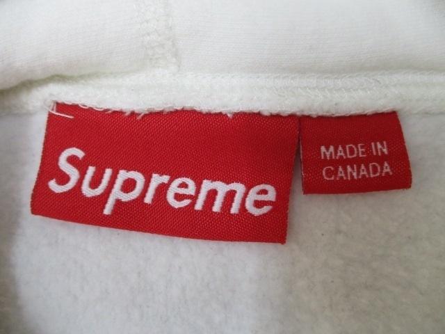 Supreme Arabic Logo Hooded Sweatshirt white size:M 12SS シュプリーム アラビックロゴ パーカー スウェット スエット 白_画像6
