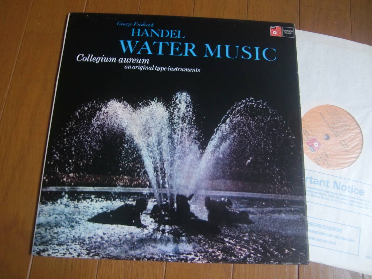 長岡鉄男 外盤A級セレクションNO145 ヘンデル 水上の音楽_画像4