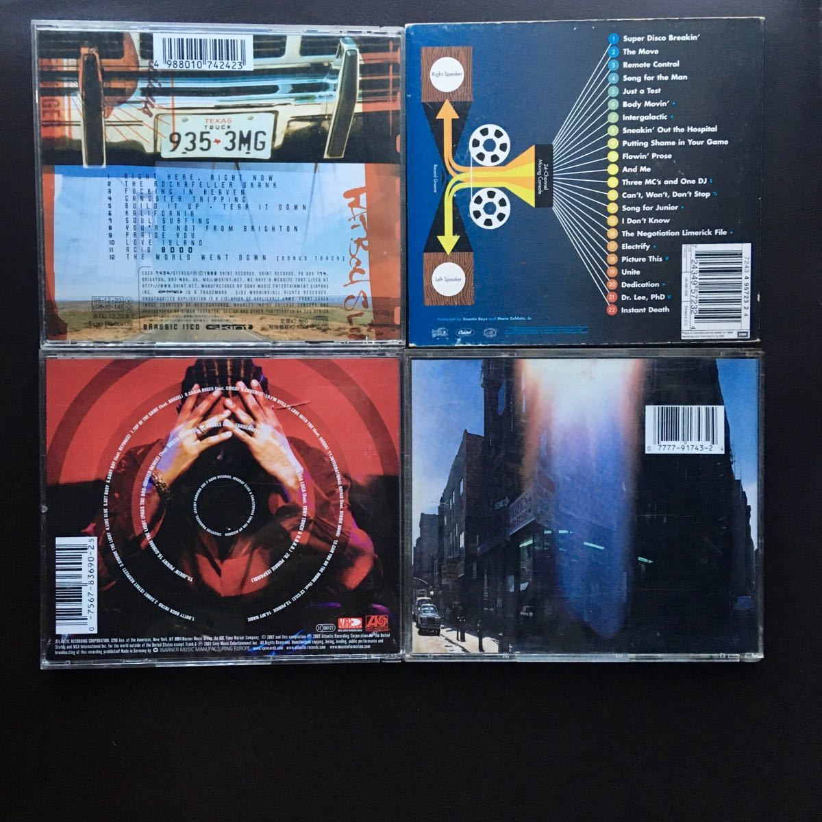 洋楽 CDセット ファットボーイスリム ビースティーボーイズ ショーンポール