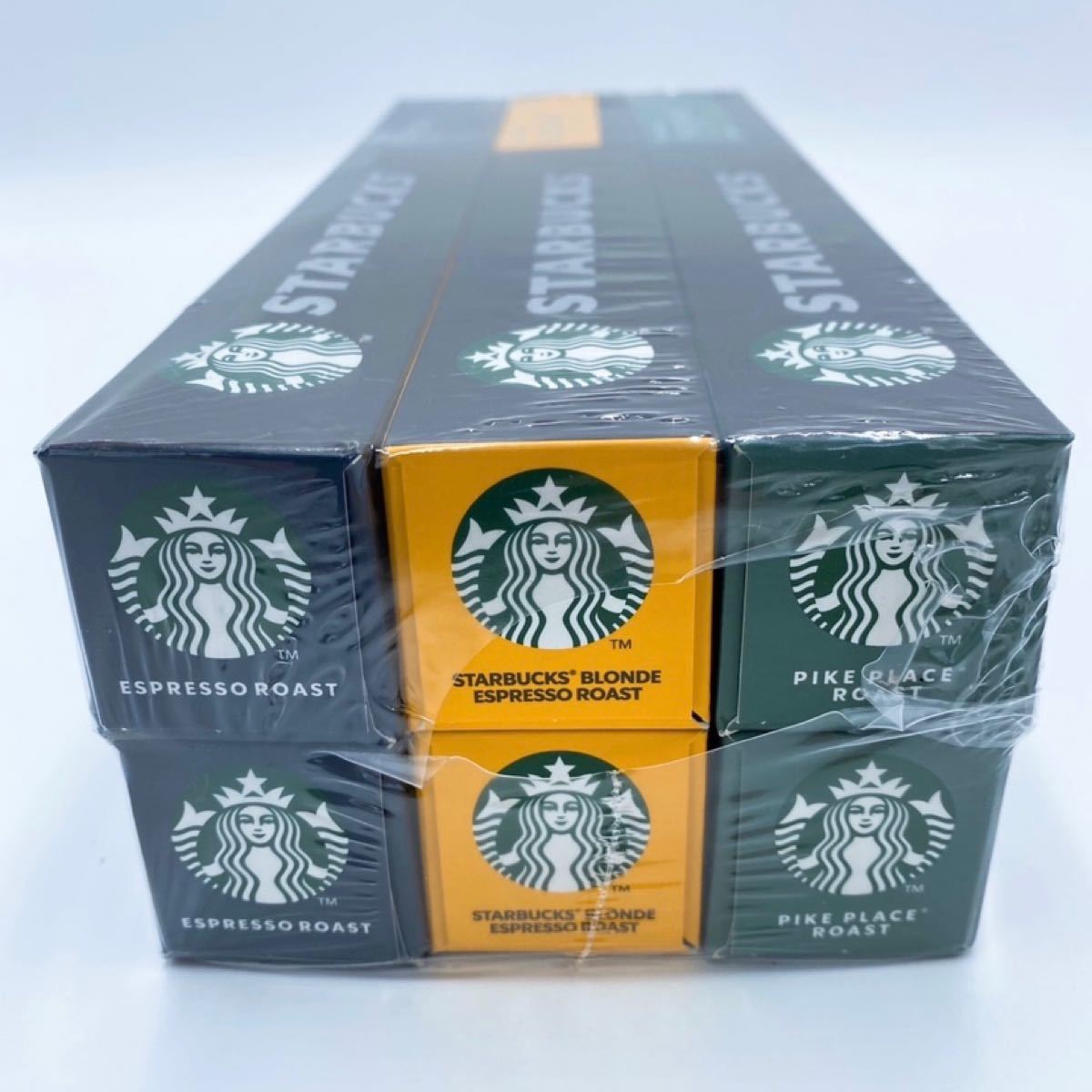 ネスレ スターバックス ネスプレッソ コーヒー カプセル 60カプセル スタバ