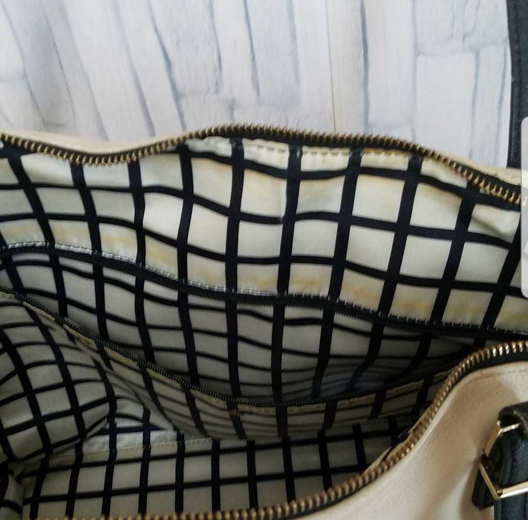 ケイトスペード Kate Spade トートバッグ カバン レザー ベージュ×ブラック レディース 送料無料